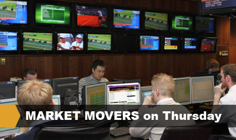 MARKET MOVERS on Thursday
