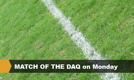 MATCH OF THE DAQ on Monday
