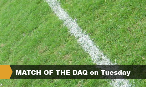 MATCH OF THE DAQ on Tuesday
