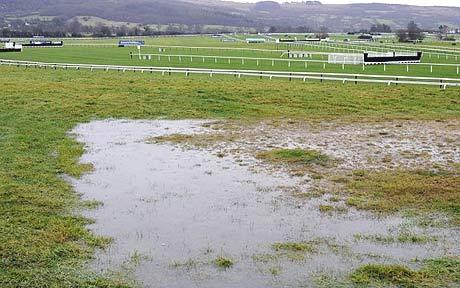 Racing fixtures washed out