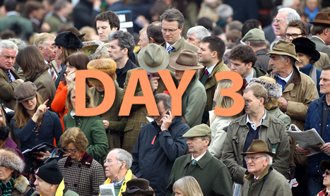 Cheltenham Day 3 on BETDAQ TIPS