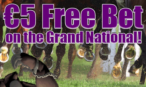£5 FREE BET on the GRAND NATIONAL