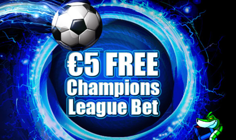 CHAMPIONS LEAGUE FREE BET