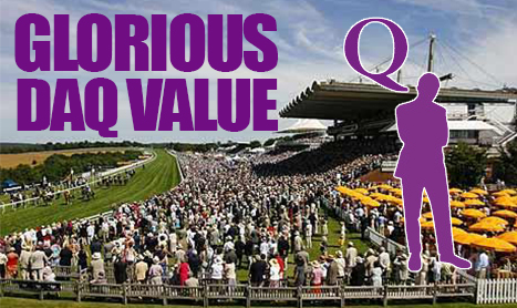 DAQMAN Tues: 33.0 and 18.5 Goodwood Bets