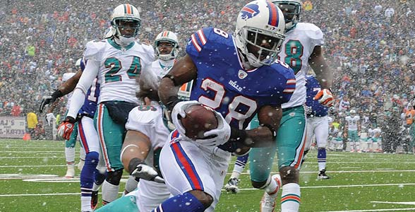 Miami Dolphins @ Buffalo Bills bettor's preview