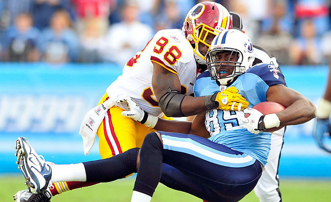Tennessee Titans @ Washington Redskins bettor's preview