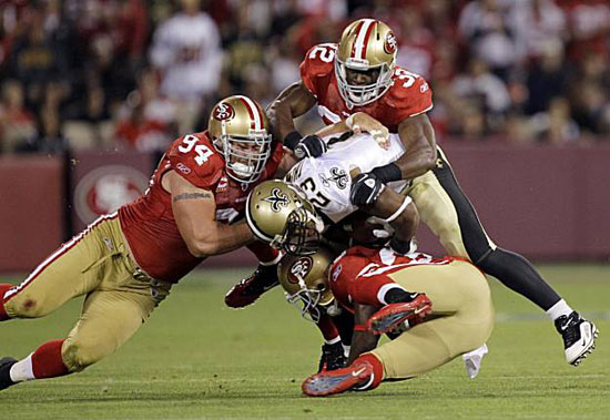 San Francisco 49ers @ New Orleans Saints bettor's preview