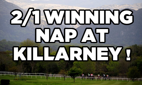 SHAMROCK Weds: Killarney NAP