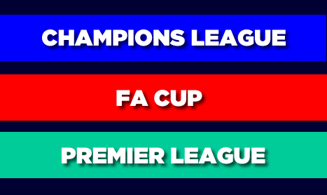 WEDNESDAY FOOTBALL: Champions League, FA CUP & Premier League