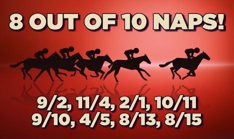 PROFORM Thurs: NOW 8 FROM 10 NAPS!