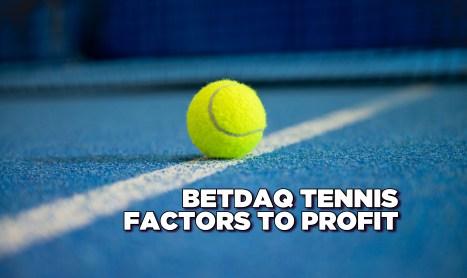 Betdaq Tennis: Factors to Profit