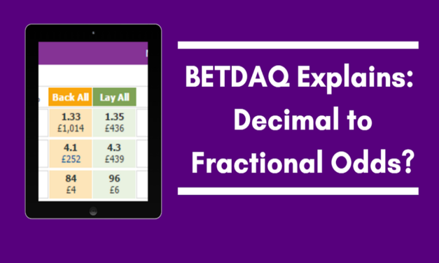 Decimal Betting Odds Conversion Explained