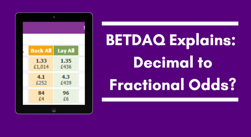 Decimal Betting Odds Conversion Explained – A Dummies Guide