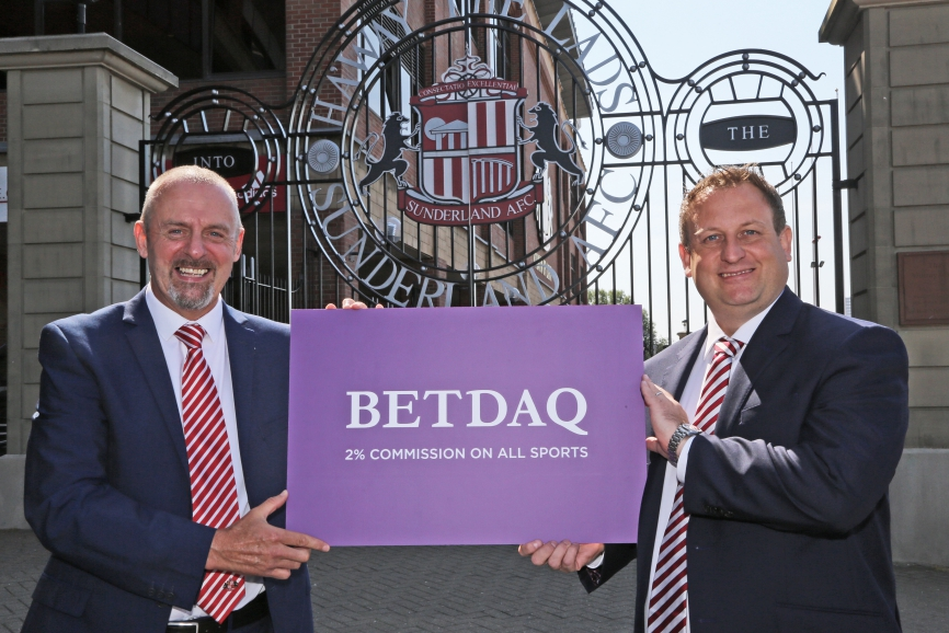 BETDAQ's title sponsorship with Sunderland AFC