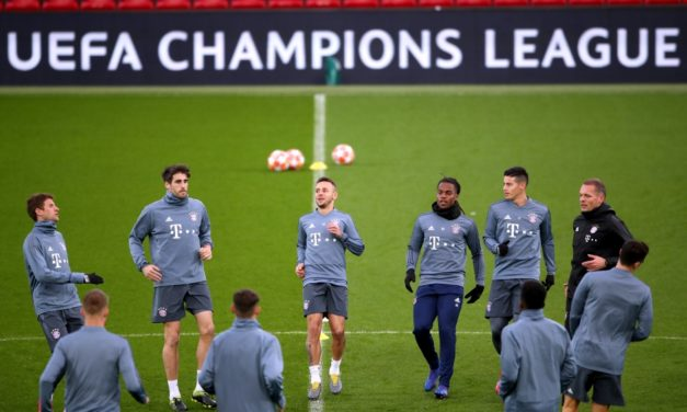 CHAMPIONS LEAGUE: Tuesday