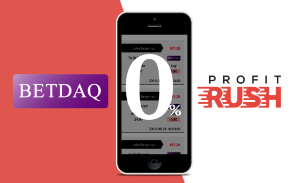 MATCHED BETTING: Profit Rush partners with BETDAQ