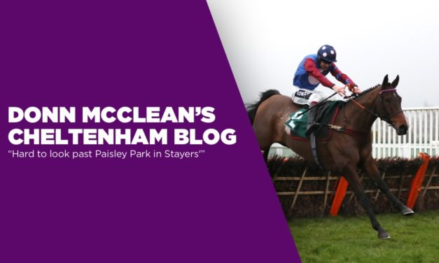 DONN MCCLEAN: Hard to look past Paisley Park in Stayers'