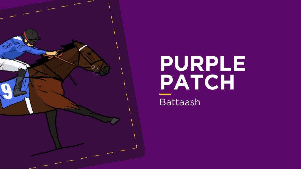 PURPLE PATCH: Battaash