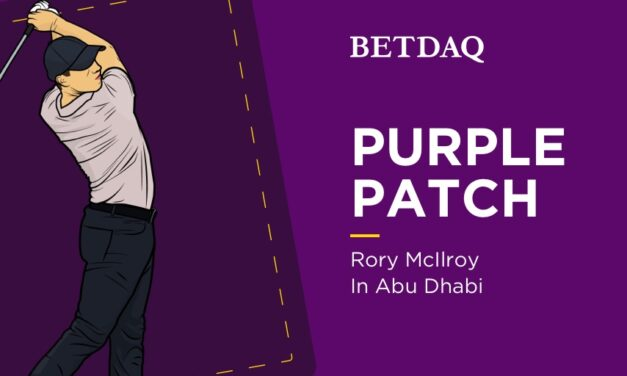 PURPLE PATCH: Rory McIlroy In Abu Dhabi