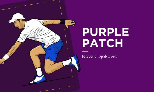 PURPLE PATCH: Novak Djokovic