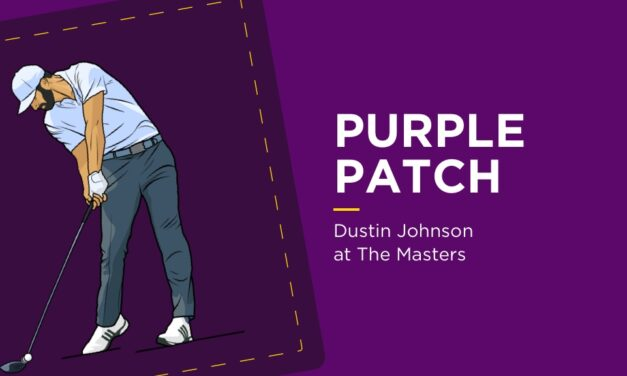 PURPLE PATCH: Dustin Johnson At The Masters
