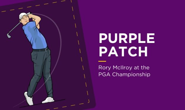 PURPLE PATCH: Rory McIlroy At The PGA Championship