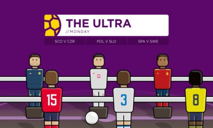 THE ULTRA Euro 2020: Monday's Matches