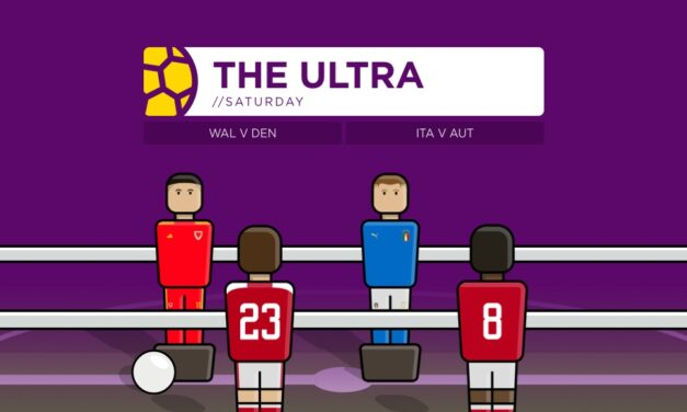 THE ULTRA Euro 2020: Saturday's Matches
