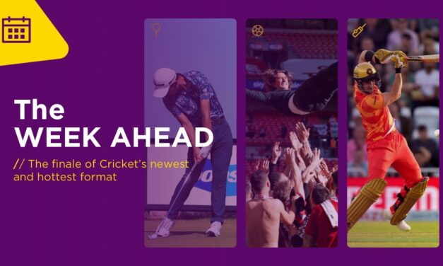 WEEK AHEAD: The Finale Of Cricket's Newest And Hottest Format