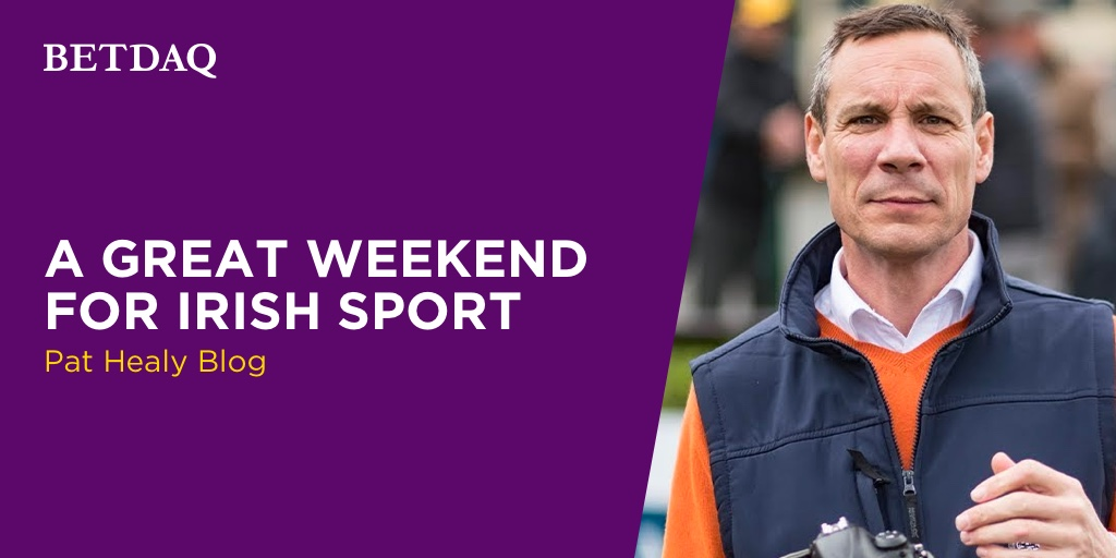 PAT HEALY: A Great Weekend For Irish sport